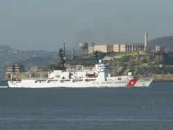 Cruising by Alcatraz