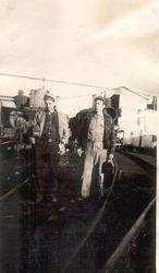 Granddad(Harry Hughes)and Uncle (Chris Hughes)