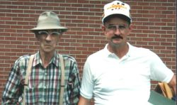 L to R -Chuck and Jim Cheuveront