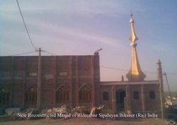 New Constructed Masjid of Ridmalsar