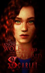 Scarlet Poster 1