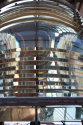 Frenel lens Sandy Hook lighthouse