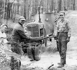 Jake and Harold Lynn with Bob Garner