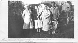 Butchering at Lynn Homestead