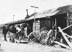 John Lynn Blacksmith Shop at Lynn Homestead