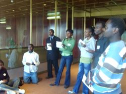 Brainstorming on ideas for development