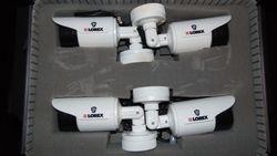 Night vision bullet cameras