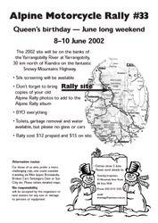2002 rally flier