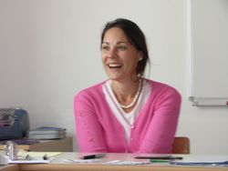 Nasmejana predavateljica