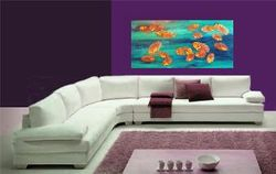 Lily Pond Fantasy Living Room Setting