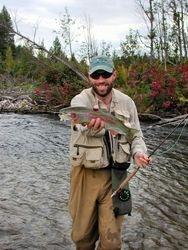 Fall Montana Creek