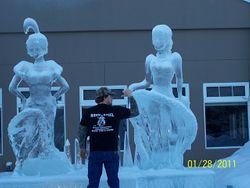 ME N THE ICE QUEENS.............
