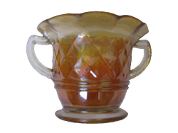 Diamonds sugar bowl marigold