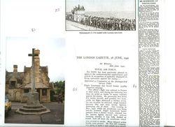 'Laconia Incident' & Winchcombe Monument