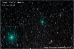 Comet C/2007 W1 (Boattini)