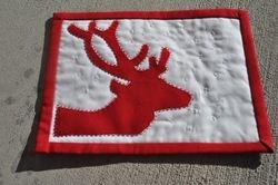 Reindeer Mug Rug