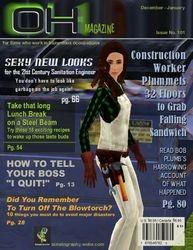 Occupational Hazard Magazine cover