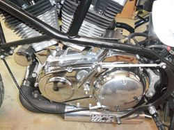 Engine chromed
