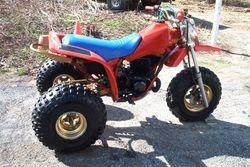 Honda cr250R 3 wheel