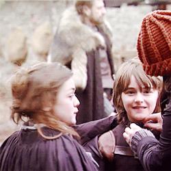 Arya and Bran