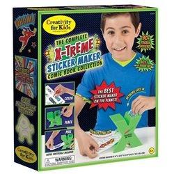 The Complete X-treme Sticker Maker Comic Book Kit