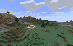 My house and valley in front