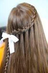 Hallie's hair