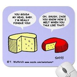 Weird cheese cartooms