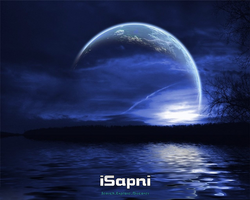 iSapni Dark Light Wallpaper