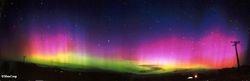Auroral Sub-Storm Nov 2004