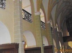 Arcade in stil baroc si gotic