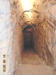 Tunele ascunse intre zidurile cetatii