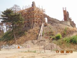 Cetatea in renovare