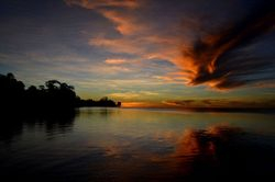 Bikenibeu sunset