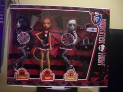 Monster High Fearleading 3 Pack ToysRus Exclusive