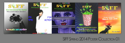 SIFF Spring 2014 Poster Collection 01