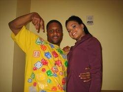 Quincy Bonds (Pookie) & Demetria Mckinney (Janine)