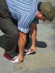 Roslyn Walker - Walking on His Hands!