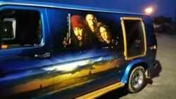 Vans showing