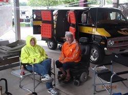 Mary Ray & Pam Jackson at Camp