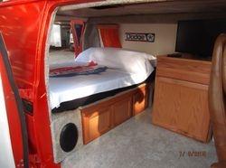 Inside Paul's van