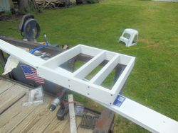 Bathroom Platform Frame