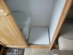 Bathroom Platform from PVC Lumber