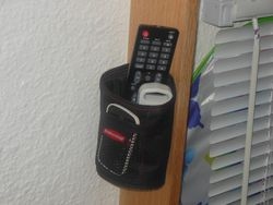 A/C; TV; etc. remote holder