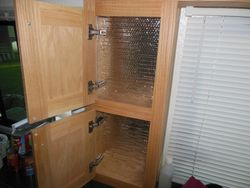 Insulating Vertical Cabinets