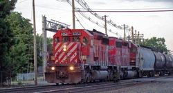CP SD40-2s