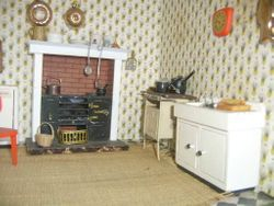 Nice old range & cooker added by me.