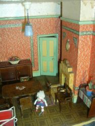 Brave child in the haunted house