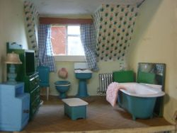 The Bathroom, all very tidy, no clutter - yet