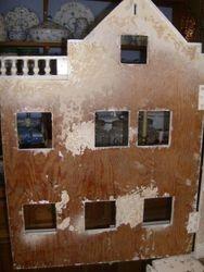Another scraped door